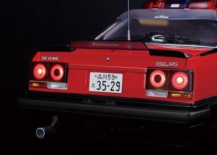 Hachette NissanSkylineR30-SeibuKeisatsu 08 brake lamp