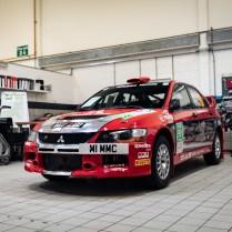 2007 Mitsubishi Lancer Evolution IX - Group N Works Rally Car-01
