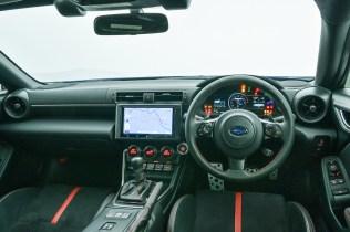 SubaruBRZ 2022 interior