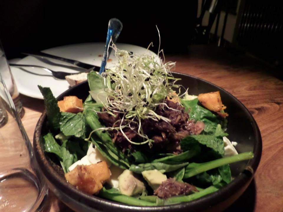 iceland - duck salad