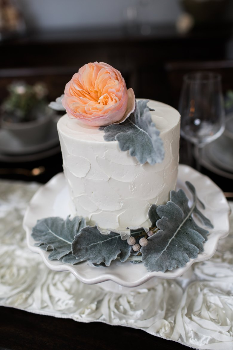 Photo compliments of One July Photographyand Cake Design by Sugar Fixe