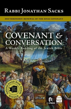Covenant & Conversation: Deuteronomy: Renewal of the Sinai Covenant by Jonathan Sacks