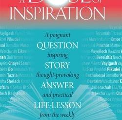 A Dose of Inspiration by Rabbi Moshe Pruzansky