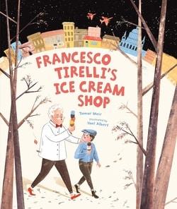 Francesco Tirelli's Ice Cream Shop by Tamar Meir