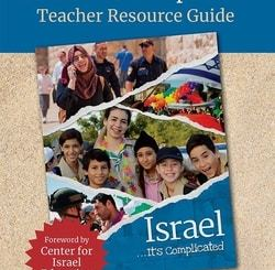 Israel...It's Complicated Teacher Resource Guide by Irit Eliav Levin