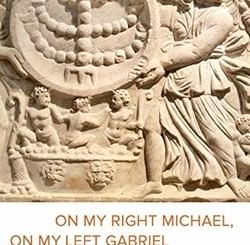 On My Right Michael, On My Left Gabriel: Angels in Ancient Jewish Culture by Mika Ahuvia