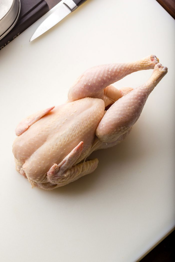 Innovative Trussing of a Chicken by Chef Steps