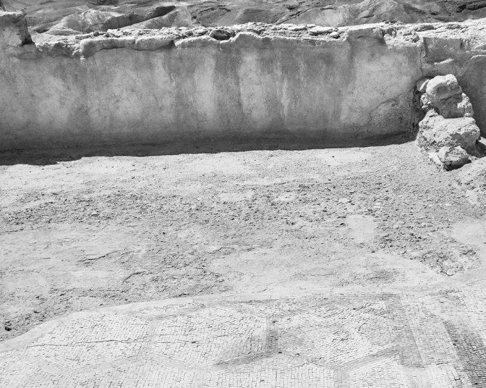 Floor in Masada