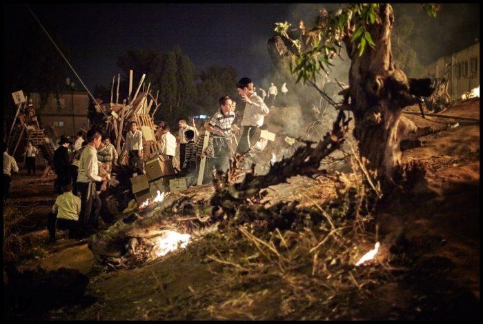 Lag Baomer Bonfires (Bnei Brak, Israel)