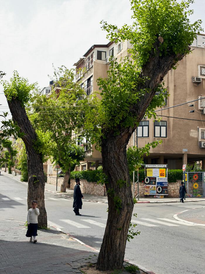 Bnei Brak street view