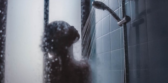 Image of woman in shower