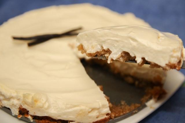 Healthy Vanilla Cheesecake
