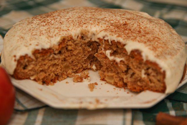 Healthy Apple & Cinnamon Cake #Healthy #Applecake #Cinnamoncake