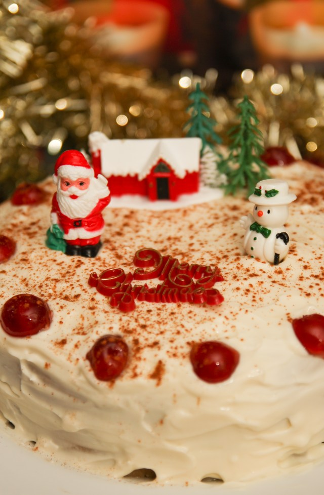Healthy Christmas Fruit Cake #healthy #christmas #glutenfree #refinedsugarfree