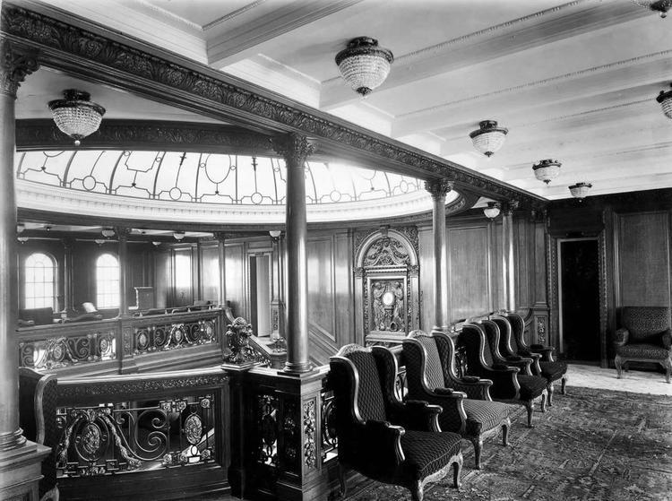 «Титаник» бойынша бірінші сынып залы