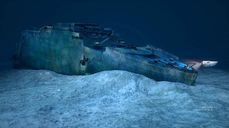 Мұхит күніндегі «Титаник» үлкен чип