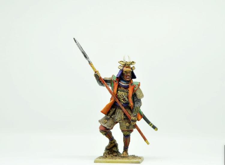 Samurai XVIIe siècle: figurine