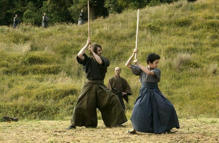 """Formation du futur Samurai (cadre du film """"Dernier Samurai"""" 2003)"""