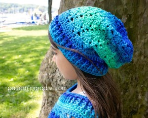 Slouch Hats Free Crochet Patterns – Krazy Kabbage