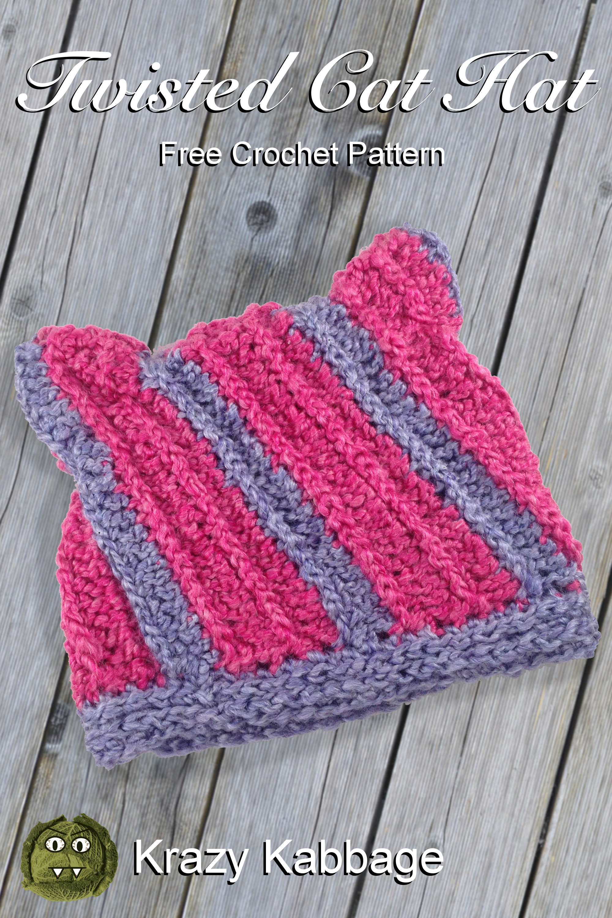 Ravelry: The Kitty Cat Hat pattern by Silver Maple Stitches | 3000x2000