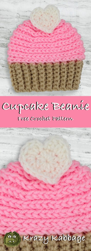 e4924749ae9 Below you will find the pattern for these sweet little cupcake hats.