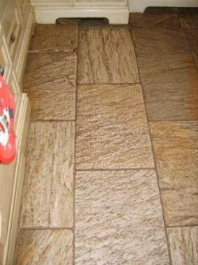 Oyster Quartzite Tiles before Cleaning