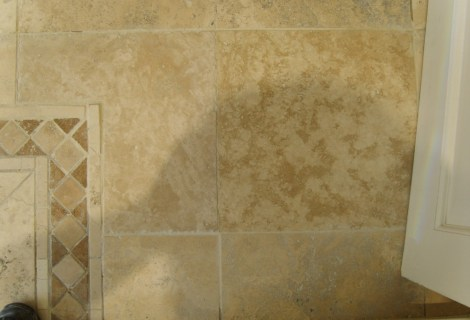 Travertine Tile Restoration