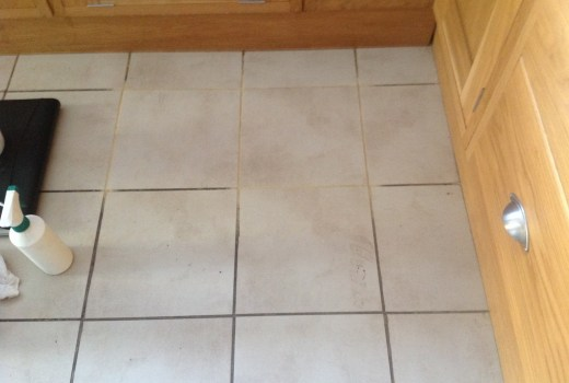 Chorley Tile and Grout Cleaning Test