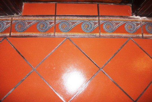 Varnished Quarry Tiles Cleaning Formby After Sealing