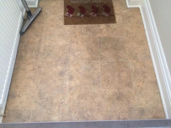 Amtico flooring in a Hallway Manchester