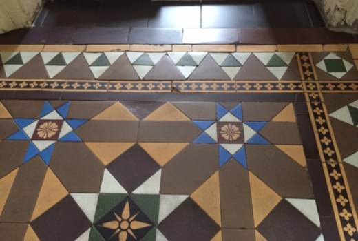Victorian Tile Lippage Turton After