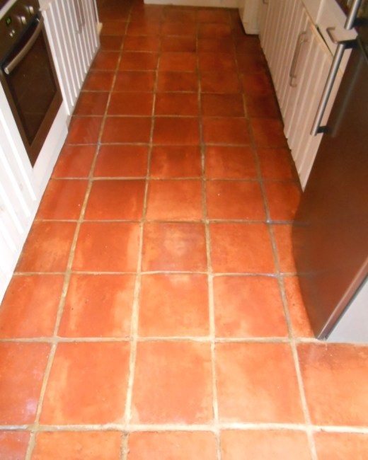 Terracotta Floor After Cleaning Fullwood