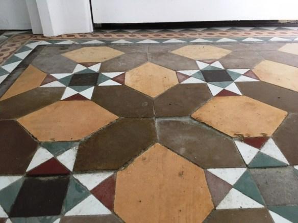 Victorian Floor Tile Restoration Lancaster Tile Doctor Lancashire