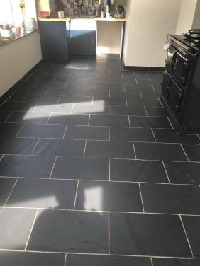 Slate Floor After Sealing High Bentham
