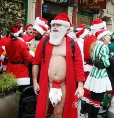 Disturbing Santa
