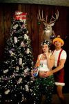 Redneck Christmas Pose