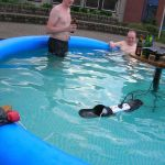 Redneck Pool Electric Grill