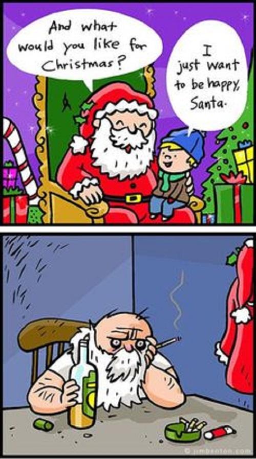Sad Santa image