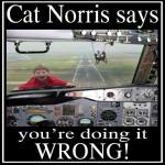 Cat Norris Says Wrong