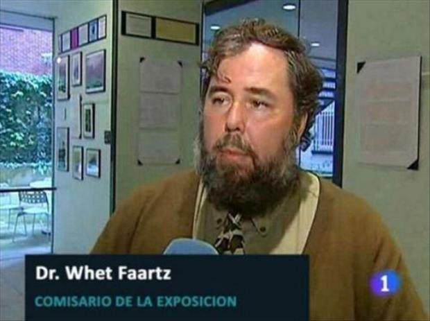 Funny Names - Whet Faartz