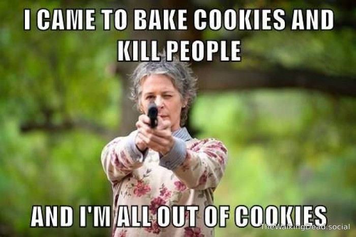 Bake Cookies And Kill People twd