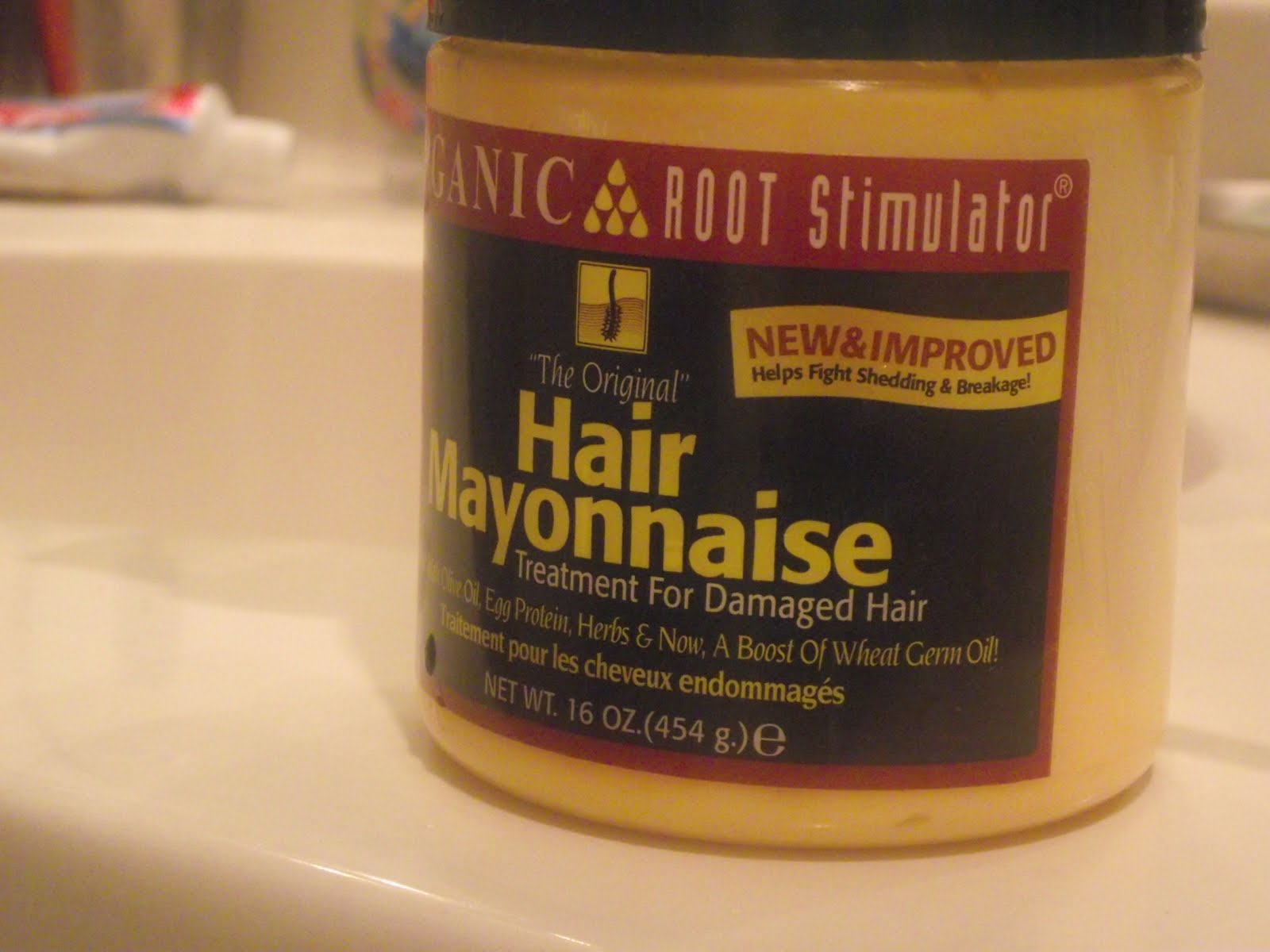Hair Mayonnaise?