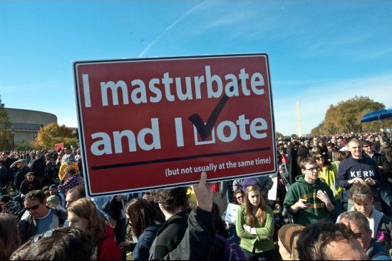 Masturbate And Vote