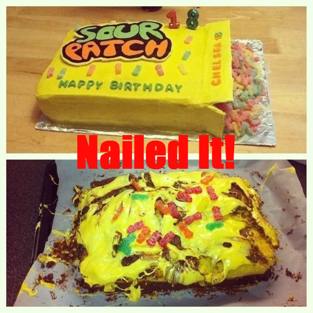 Nailed It - Sour Patch