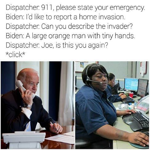 Biden Home Invasion Meme
