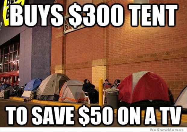 Black Friday Buys Tent image