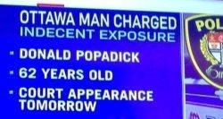 Funny Names Donald Popadick image