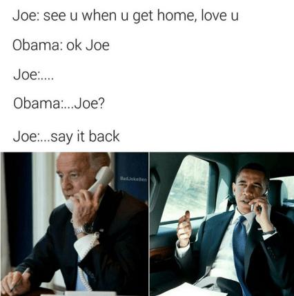 Say It Back biden obama meme image