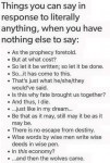 Things you Can Say To Anything picture