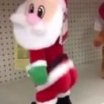 Twerking Santa at Walmart